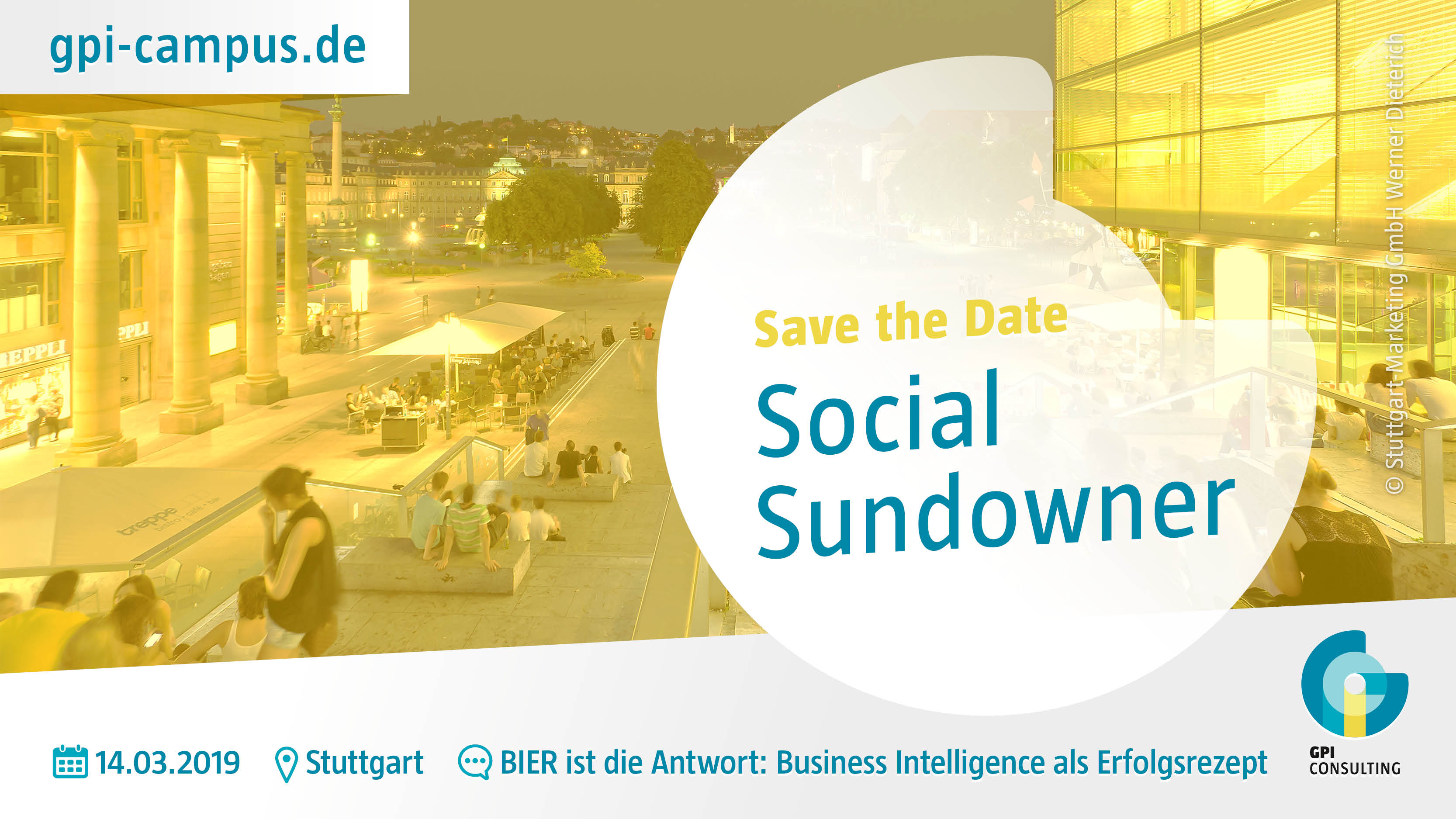 Flyer Social Sundowner BIER