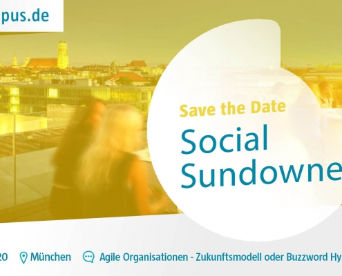 Social Sundowner Digitalisierung